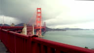 Golden Gate Bridge in San Francisco video