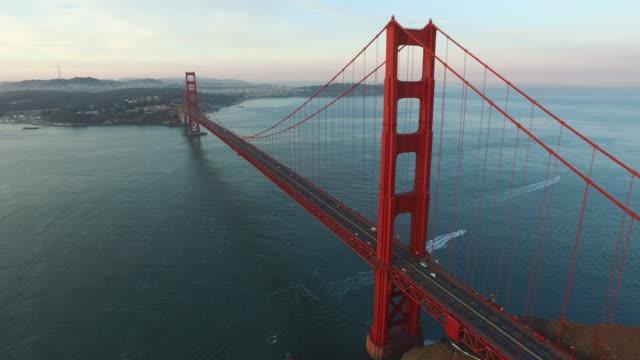 Golden Gate Bridge in San Fransisco video