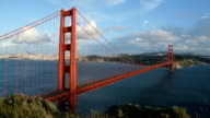 Golden Gate Bridge Nightfall video
