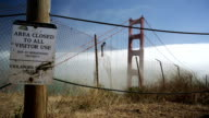 Golden Gate Bridge no trespassing video