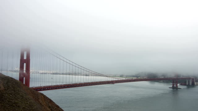 Golden Gate Bridge San Francisco Bay Time Lapse video