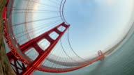 Golden Gate Bridge - Super Fisheye video