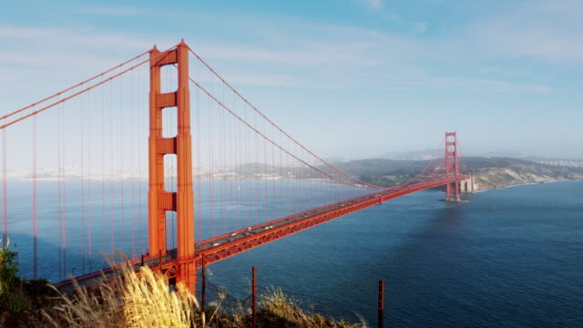0063 Golden Gate Bridge Time Lapse Day to Night 4K video