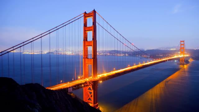 Golden Gate Bridge, time lapse video