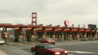Golden Gate Bridge Toll Booths 720p30 video