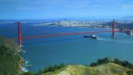 Golden Gate Bridge (Multiple clips included) video