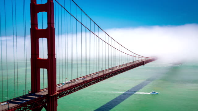 TIME LAPSE: Golden Gate Bridge video