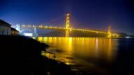 Golden Gate Night video