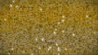 Golden glitter wall loopable video