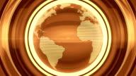 Golden Glossy Globe video