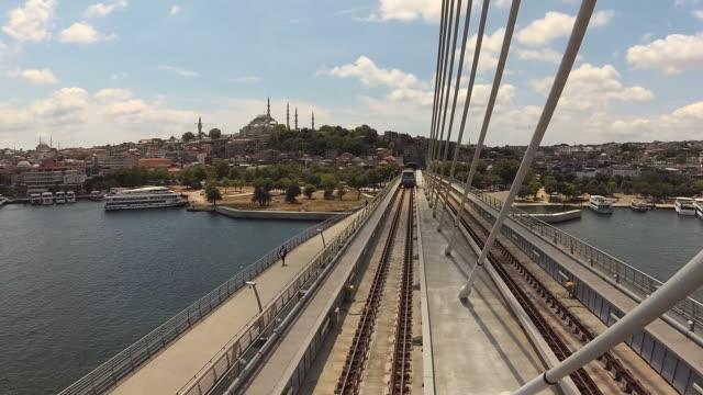 Golden Horn Metro Bridge video