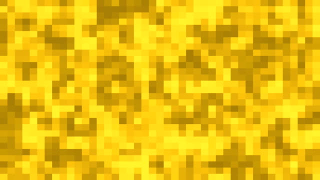 Golden mosaic seamless background. abstract mosaic background video