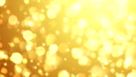 Golden Particles (Loopable) video