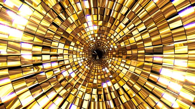 Golden Shine Circle Mosaic video