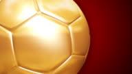 Golden Soccer Ball video
