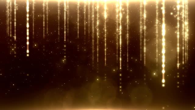 Golden stream. video