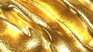 Golden wave background video