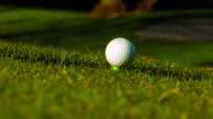 Golf Ball Hit video