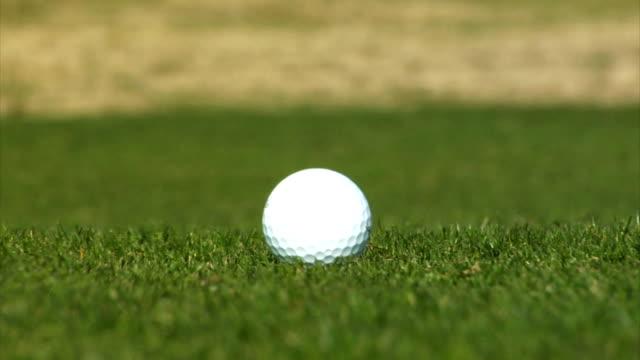 Golf Ball Landing video