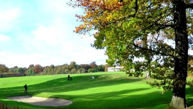 Golf club in Brussels. video