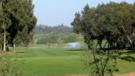 Golf course in African country video