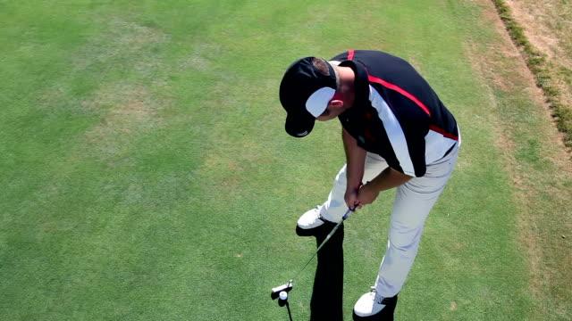 HD CRANE: Golf course video