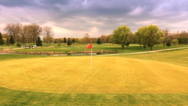 Golf court video
