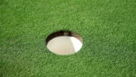 HD MACRO: Golf hole video