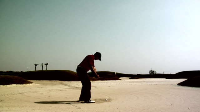 Golf: Out of the bunker video