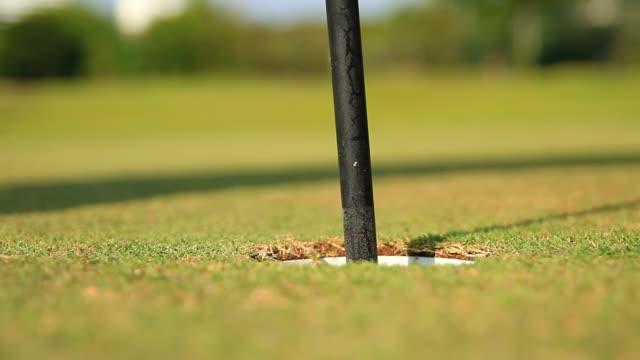 Golf Putting Final shot video