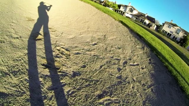 POV Golf Shot video