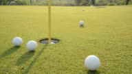 Golf Training Shot video