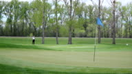 Golfer Gets a Long Shot Hole-In-One video