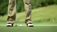 MS LA Golfer Holing The Ball video