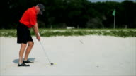 Golfer in the Sand Trap video