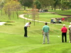 Golfer Unhappy with Swing video