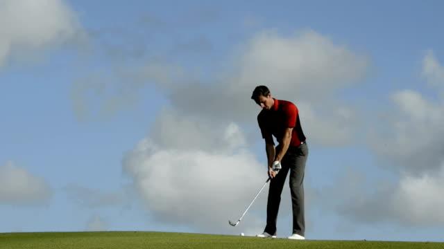 Golfer video