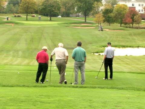 Golfers Observe Fairway video