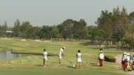 Golfers video