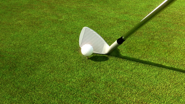 Golfing event video