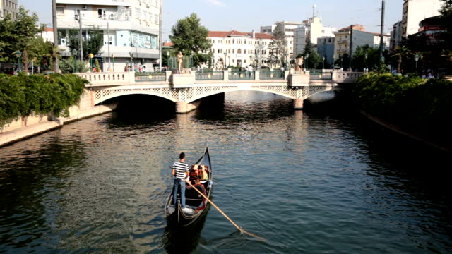 Gondola and Romance on River video
