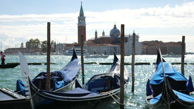 Gondola at Venice italy video