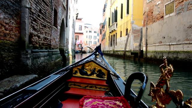 Gondola Ride in Venice video