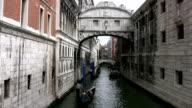 Gondolas Venice  Italy video
