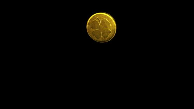Good Luck Coin Flip (HD) + Alpha Channel video