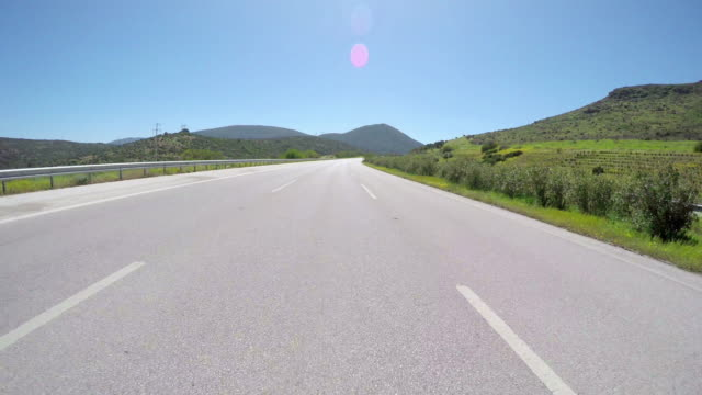 Gopro traffic on road, Turkey streets video