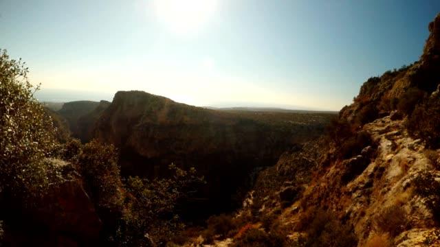 Gorge Seytanderesi near antique city Adamkayalar Mersin province Turkey video