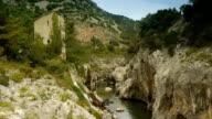 Gorges at L'Herault river, Cevennes France video