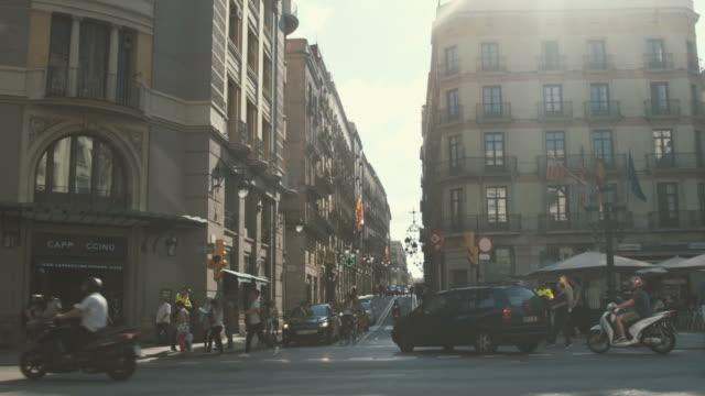 Gothic Quarter, Barcelona (slow motion) video