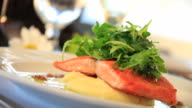 Gourmet Salmon Entree video